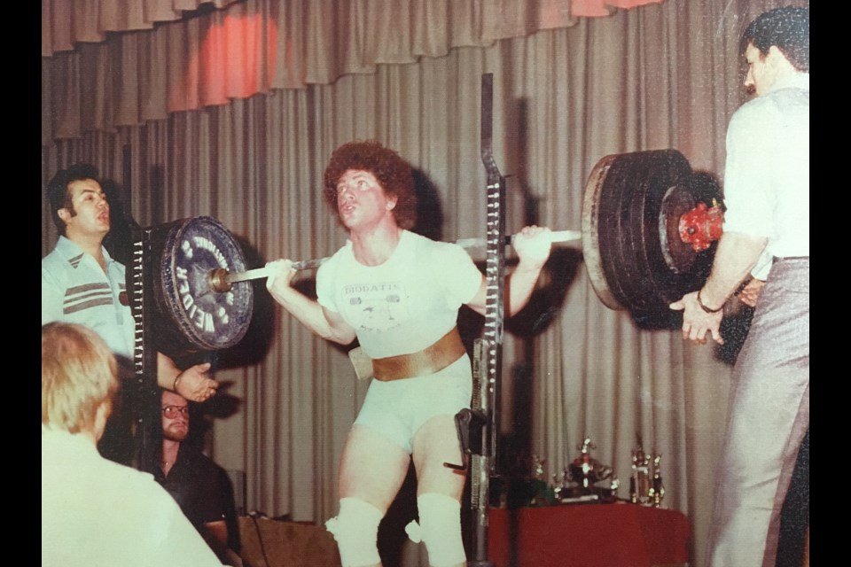Former Sault powerlifter Lou Caruso. Photo supplied by Ben Cinelli