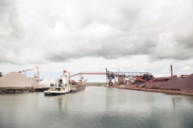 20160603 Essar Steel Algoma Dock Facilities Port of Algoma KA 02