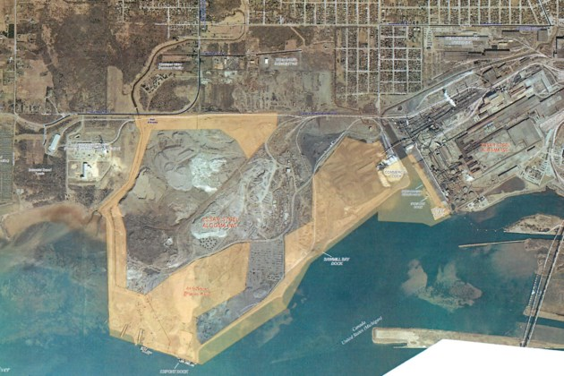 The steel mill is leasing the port to itself. Here's why