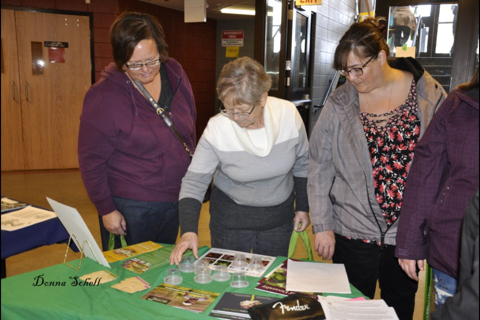 Residents from across the North Shore, St. Joseph Island and beyond stopped by Central Algoma Secondary School for the Second Annual Seedy Saturday. The one-day event saw a number of vendors, information booths and representatives from the areas Horticultural Societies were on hand each with a wealth of knowledge to share. Donna Schell for SooToday