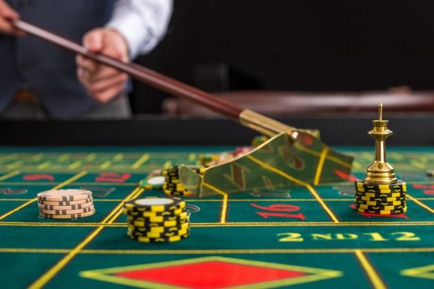 Gambling centre crossword