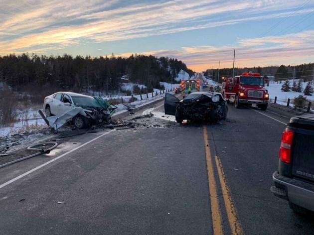 2018-12-16 fatal highway 17 collision Markstay-Warren