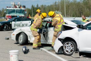 5 people and a dog in Black Road collision, Jaws of Life used <b>(11 photos)</b>