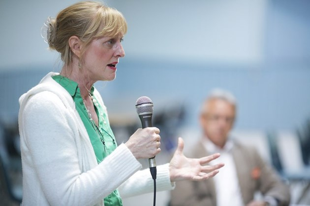 Green Party candidate Kara Flannigan is pictured in this 2015 file photo. Kenneth Armstrong/SooToday