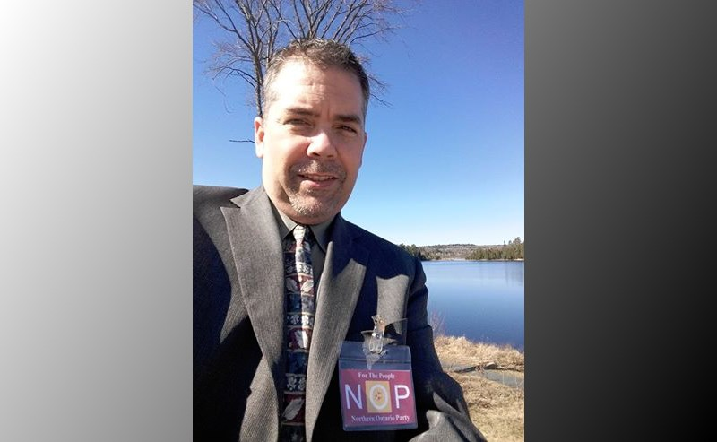 Tommy Lee, Northern Ontario Party President and candidate for the Algoma riding. Photo provided