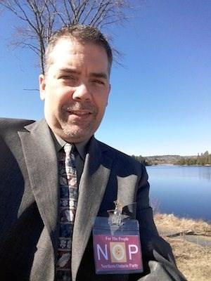 Tommy Lee - Northern Ontario Party crop