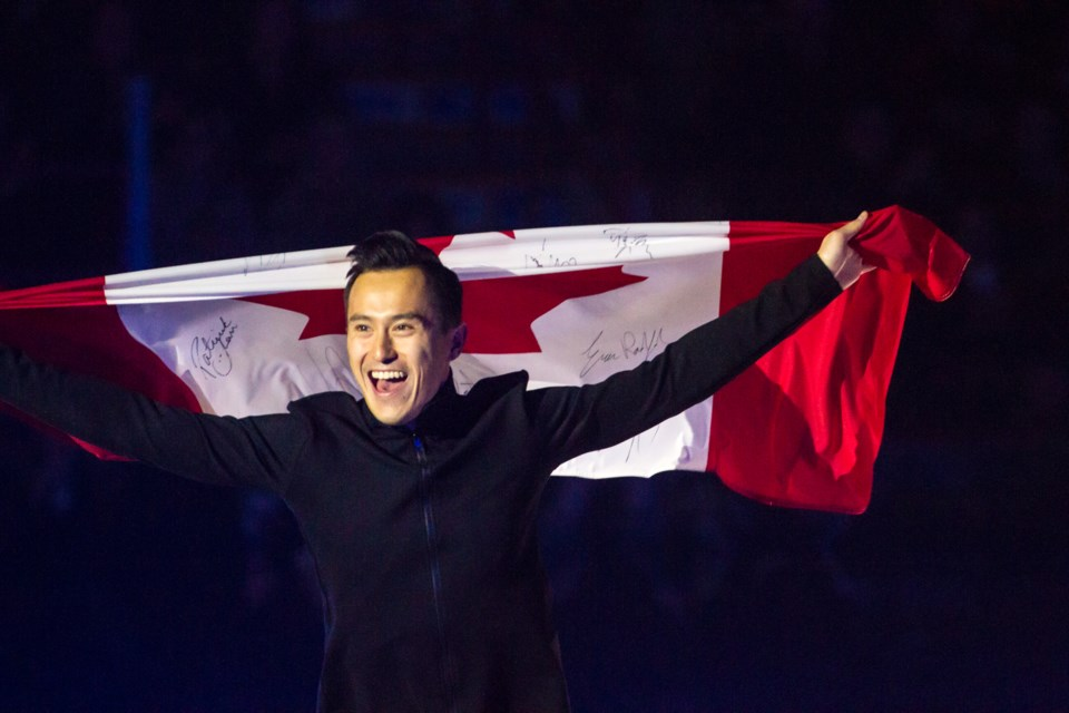 Three-time World Champion and ten-time National Champion Patrick Chan during the Thank You Canada Tour at the GFL Memorial Gardens on Thursday, October 25, 2018. Donna Hopper/SooToday