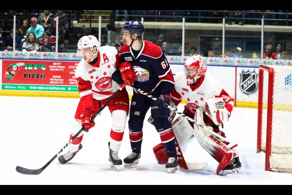 Photo courtesy Natalie Shaver/OHL Pucks