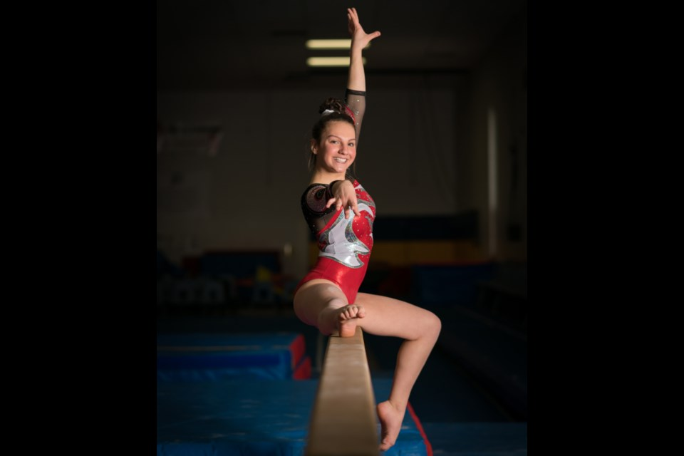 Kayla Paquin will represent the Sault Ste. Marie Gymnastics Club on the world stage during the 2019 USAIGC-IAIGC World Championships in Nashville July 1-8. Photo supplied