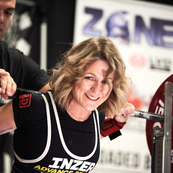 Sault powerlifter Holly Lasante. Photo supplied