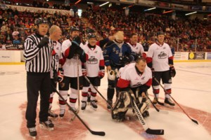 The lighter side of hockey at Essar Centre Sunday <b>(21 photos)</b>