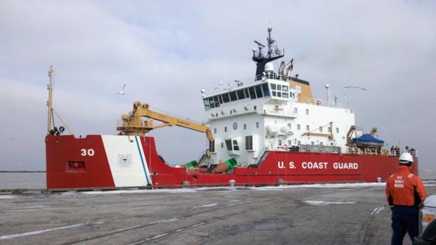 US Coast Guard Cutter Mackinaw