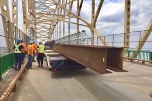 Scaffolding is up, hears International Bridge board