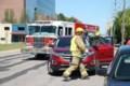 Accident near Bay Street Tims location <b>(2 photos)</b>