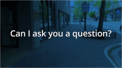 Can I Ask You a Question