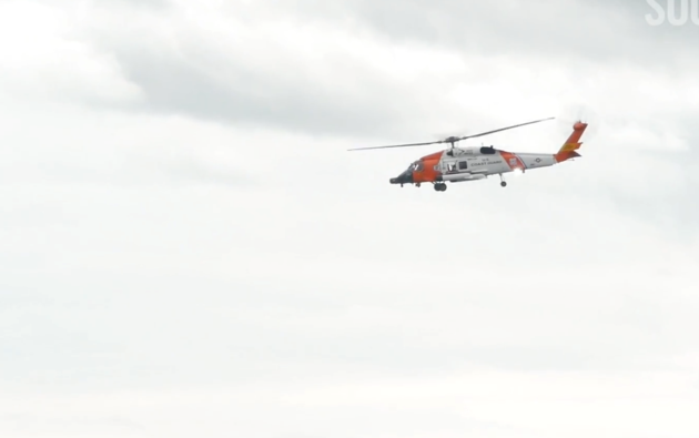 May 30 US Coast Guard helicopter
