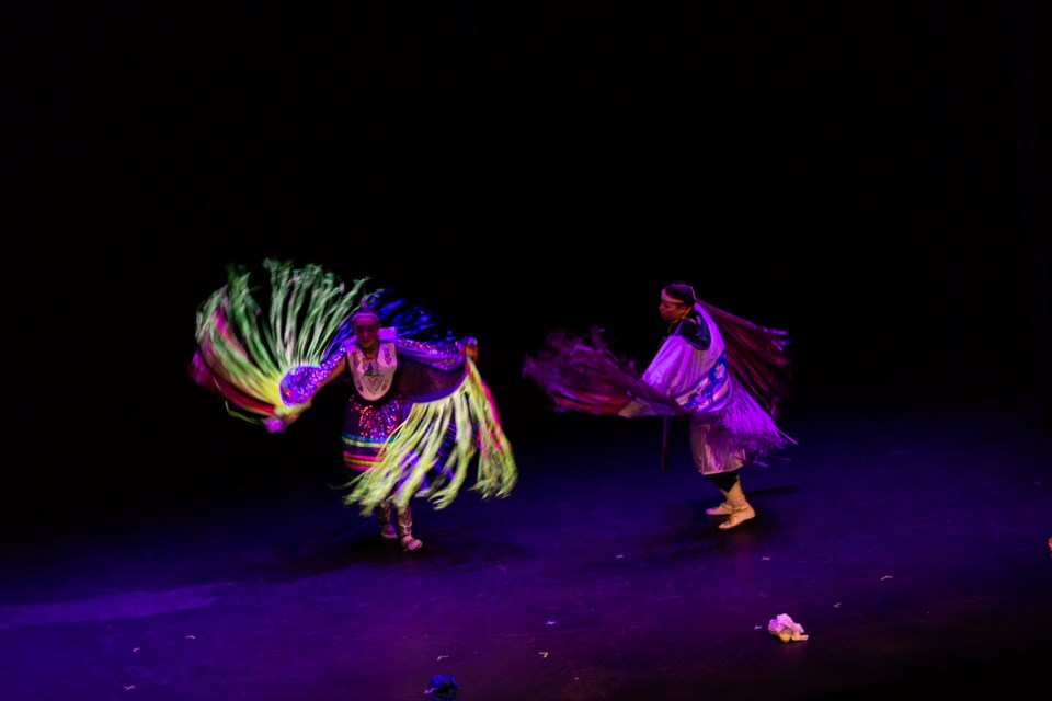 Nimihitowin proudly puts on a display of Indigenous dancing at International Children's Festival of the Arts running May 28 to June 2. Supplied Photo