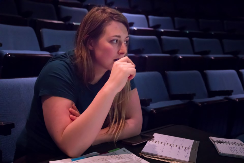 St. Albert actress Katie Elliott takes a moment to reflect on her role in From Cradle to Stage 2019 running at Walterdale Theatre from May 13 to 18.