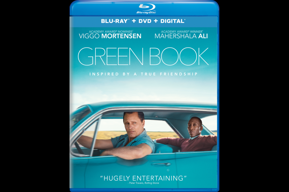 Green Book, the winner of the 2018 Best Picture Oscar, is now available by digital download. It will also be for sale in DVD, Blu-ray and 4K Ultra HD formats starting Tuesday, March 12.