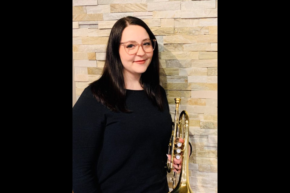 Cornet player Emily Ewing will be the special guest at Mission Hill Brass Band's final season concert on Sunday, April 14, at St. Albert United Church.