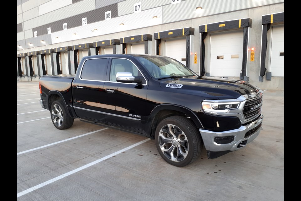 The new 2019 Ram 1500 pickup truck, which has been completely redesigned. GARRY MELNYK/Photo