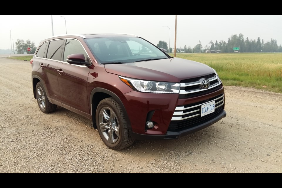 The 2019 Toyota Highlander SUV offers a smooth, comfortable ride and is roomy enough for for a family of five or six. GARRY MELNYK/Photo