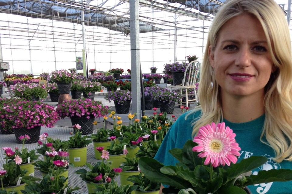 Deb Foisey, owner-founder of Deb's Greenhouse, hosts the 2nd annual New Blooms Festival at her Sturgeon County greenhouse from July 18 to 21.