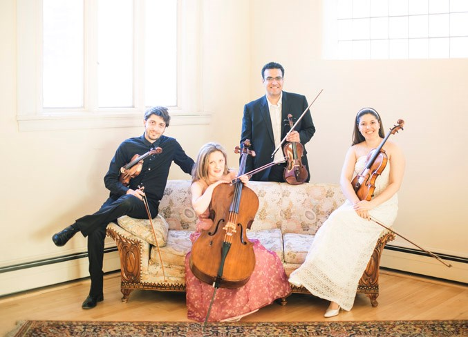One of Western Canada's most active chamber groups, the Vaughan String Quartet returns to play for St. Albert Chamber Music Society Series on Saturday, March 16, at St. Albert United Church.