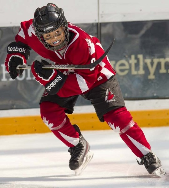 Ten Year Old Talents Lace Up For Team Brick Alberta Stalberttoday Ca