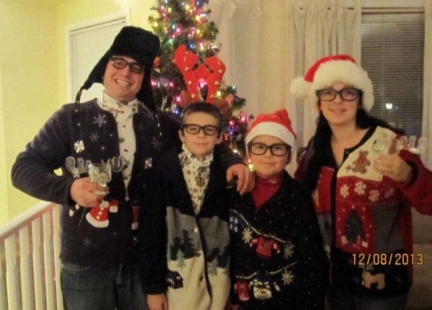 Ugly Christmas Family Pictures.The Enduring Appeal Of The Ugly Christmas Sweater