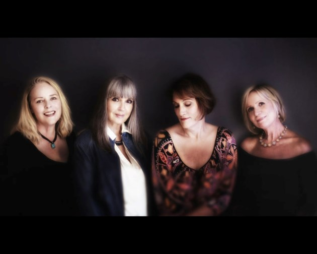 QUARTETTE – From left to right: Gwen Swick