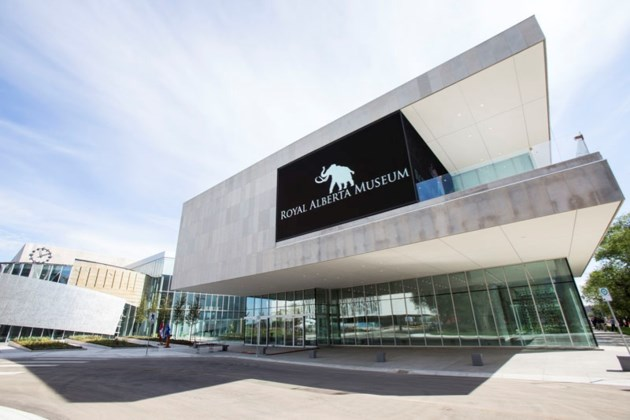 MAMMOTH MUSEUM – The new Royal Alberta Museum building celebrated an important construction milestone on Tuesday