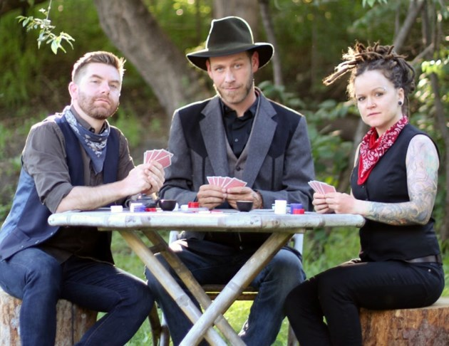 There's a touch of the gambler in singer-songwriter Scott Cook