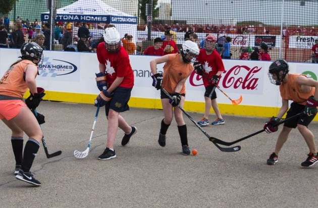 Street Hockey Gets Serious At Servus Place Stalberttoday Ca