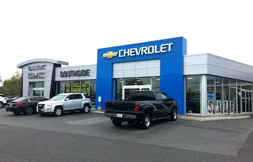 Southside chevrolet buick gmc for Gmc motor city service