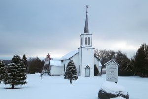 Snowy wonderland for holiday services