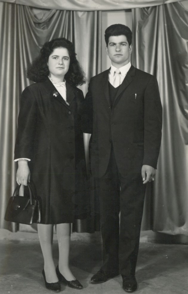 Maria and Agostino Rocca