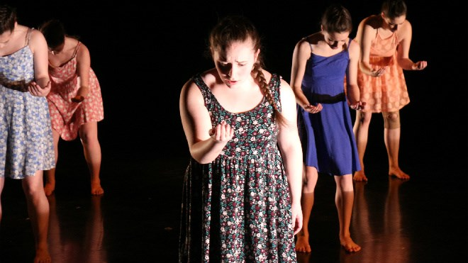Catch the final weekend performance by the Earthdancers at Le Théâtre Du Nouvel-Ontario on the Collège Boréal campus tonight at 7:30 p.m. Tickets are $15 for students and seniors and $20 for adults, and are available through TNO's box office. Visit www.letno.ca. Photos by Darren MacDonald.