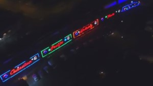 <b>A drone's eye view of the CP Holiday Train</b>