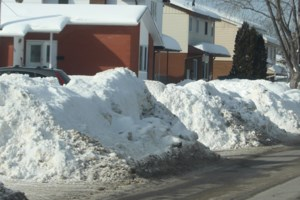 We're searching for Sudbury's biggest snowbank