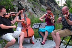 Video: Thunder helped us say farewell to Silver Birch String Quartet