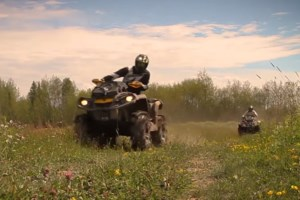 <b>Calling all gear heads:</b> Larry Berrio's new video is a love song to sleds, quads and boats