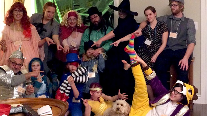 Wizard of Oz holiday murder mystery photo submitted by Andrea Desjardins.