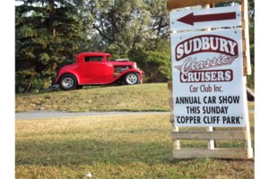 Classic Cruisers holding car show in Copper Cliff Sunday
