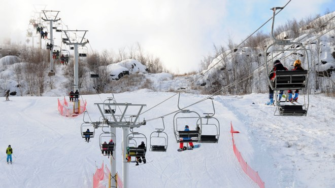 Due to weather conditions, the City of Greater Sudbury closed Adanac Ski Hill on Jan. 12. (File)