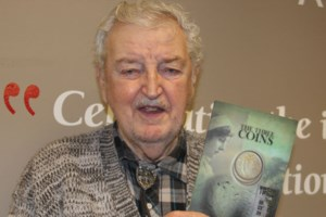 <b>At age 86, Hanmer man has just published first novel</b>