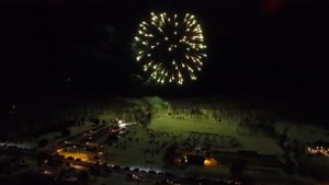 <updated>WATCH:</updated> Take to the skies with Drone Malone for fireworks over Kivi Park