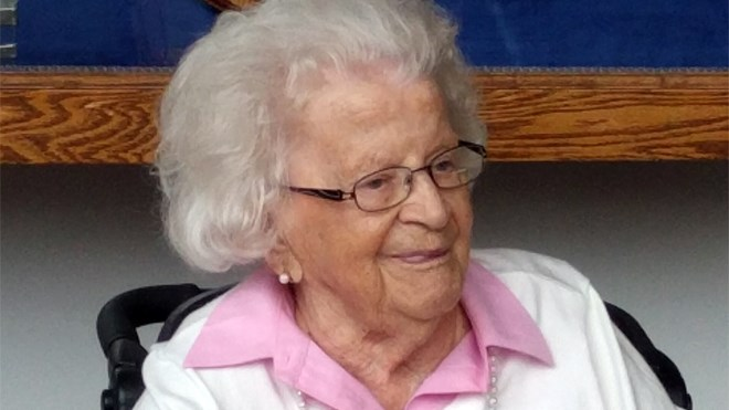 Lily Fielding passed away Sept. 8, 2019, at age 103.