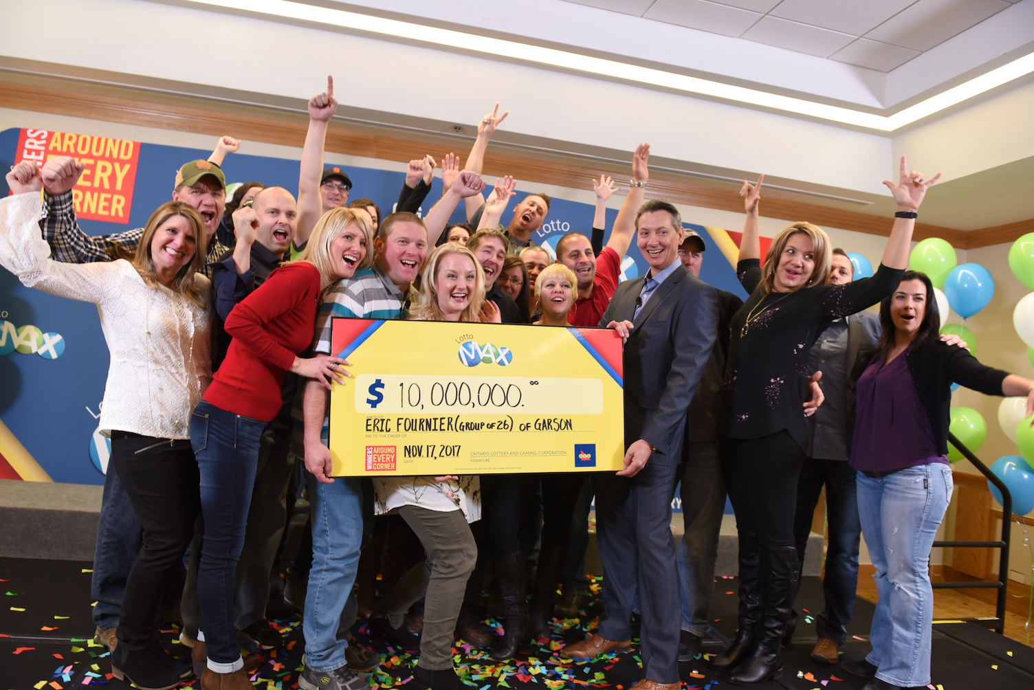 Garson lottery winners: Friends who gamble together stick together