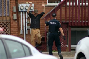 <updated>Video: </updated>Five-hour standoff ends in Flour Mill